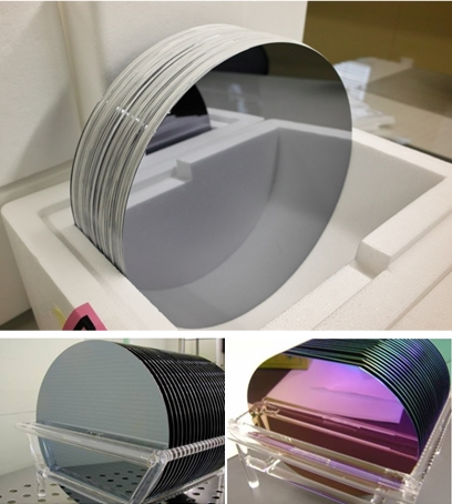 Si wafer / SiO2 oxide wafer